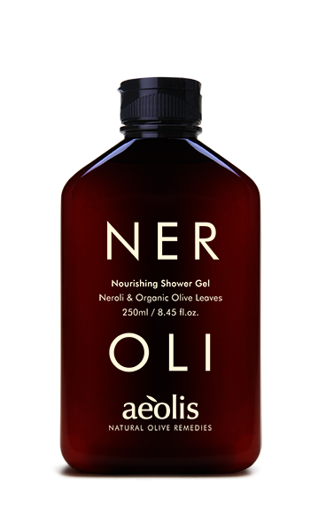 neroli shower gel bottle
